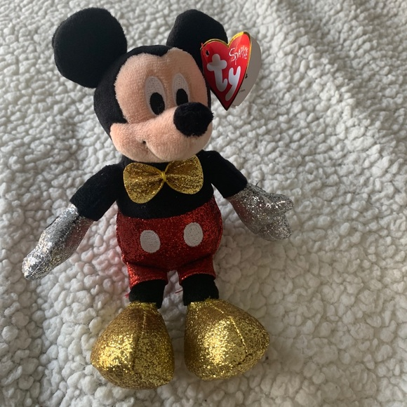 Disney Mickey Mouse beanie baby